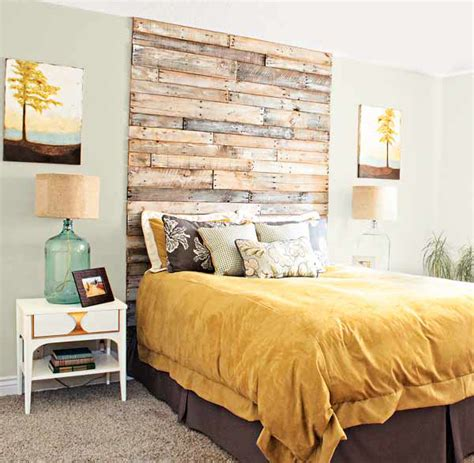 Wood Headboard Designs by 10 Diy Bedroom Headboard Ideas Home Design And Interior