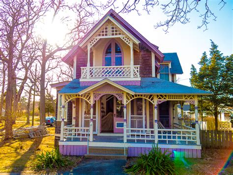 Bright Homes by Martha S Vineyard S Gingerbread Cottages Are So Cool Around The World Quot L Quot