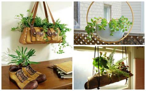 unique indoor  outdoor hanging planter ideas