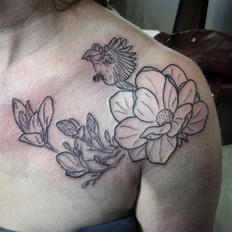 magnolia tattoo magnolia tattoos designs ideas and meaning tattoos for you