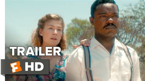 movies this weekend a united kingdom 2016 a united kingdom official independence trailer 2016 rosamund pike movie youtube