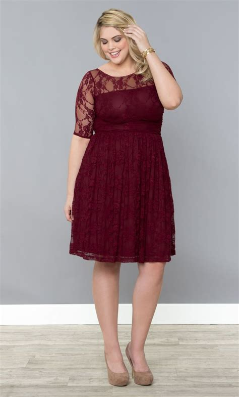 wine colored plus size dresses our plus size lace dress in a stunning raspberry wine