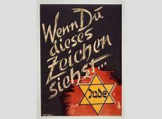 """LeMO Bestand - Objekt - Propagandaschrift: """"Wenn du dieses ... Judenstern"""