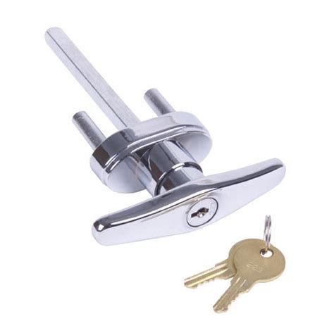 garage door handle lock garage door lock keyed t handle