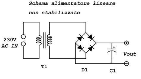 alimentatore stabilizzato 12v schema alimentatore 5v 2a schema elettrico