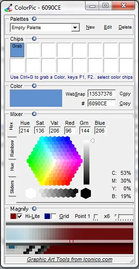 windows color picker colorpic
