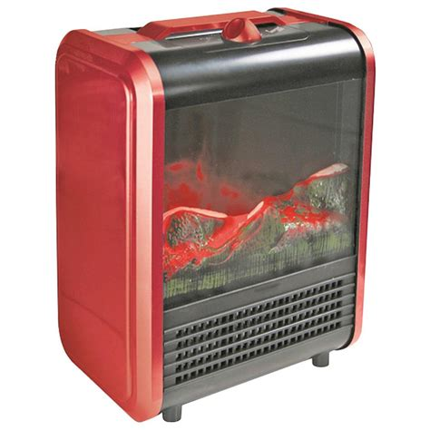 comfort fireplace comfort zone mini electric fireplace czfp1 the home depot