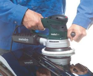 Polieren Mit Metabo Exzenterschleifer by Metabo Sxe 425 Turbotec Exzenterschleifer Im Test