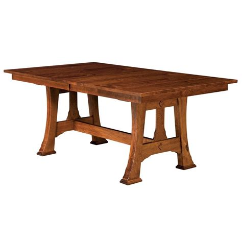 extendable dining table plans cambridge trestle extension table amish dining tables on