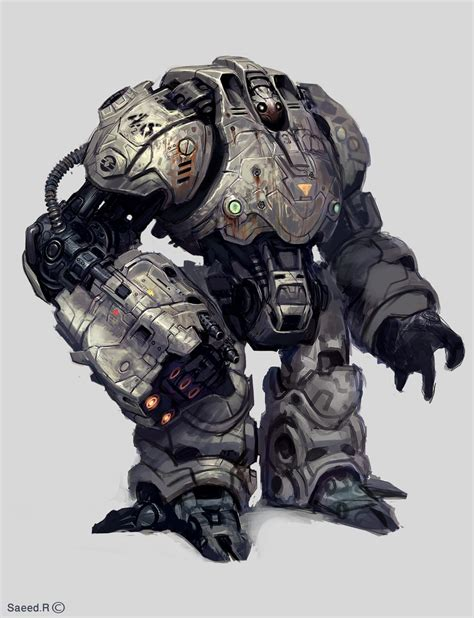 7 Awesome Robot Personalities by Robot By Saeedramez On Deviantart