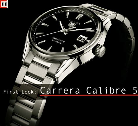Tag Heuer Calibre 5 calibre 5 day date look the home of tag