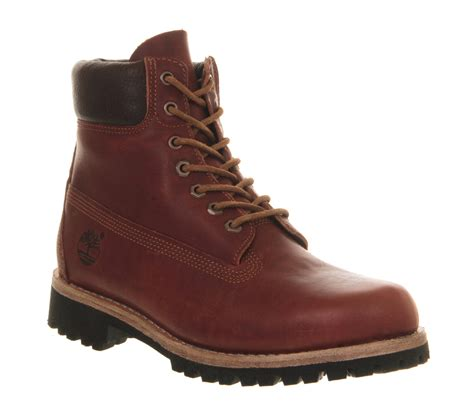 timberland earthkeepers heritage rugged boots in brown for
