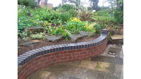 small garden wall