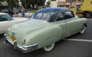 1950 chevrolet deluxe coupe green light green