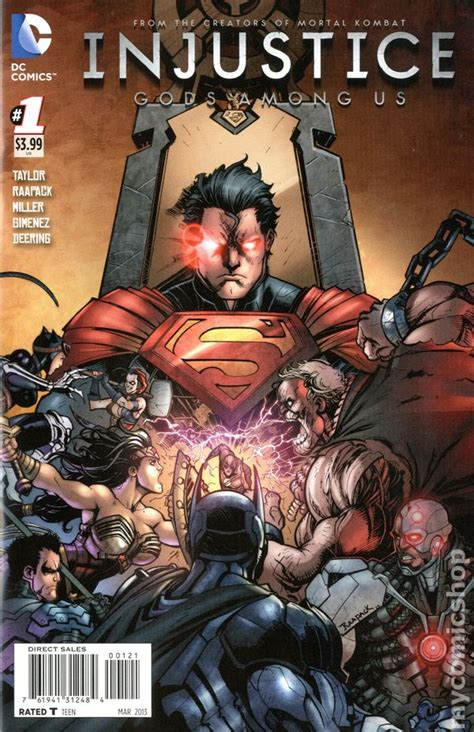 injustice books injustice gods among us 2012 dc comic books