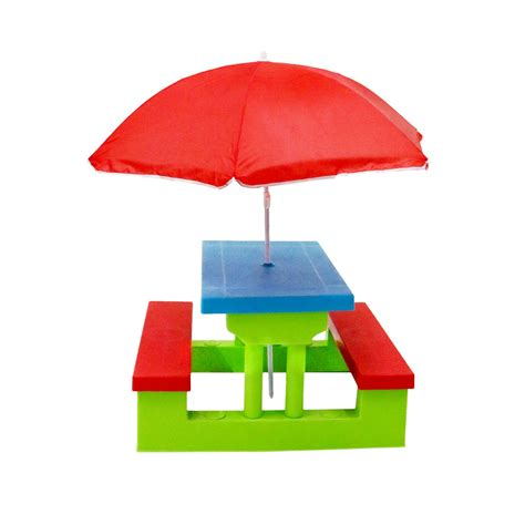kids table and bench kids childrens picnic bench table outdoor furniture with