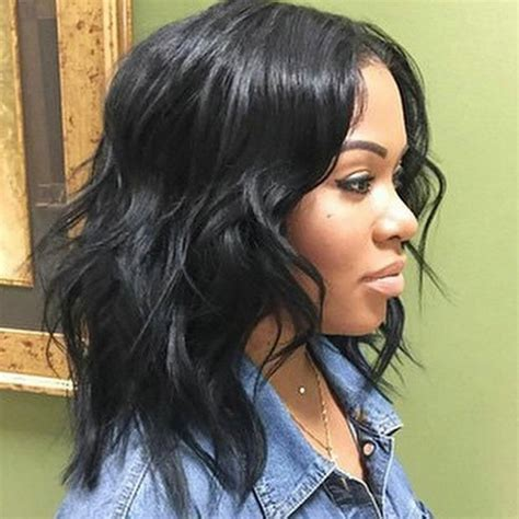 wet and wavy hair black women black women medium length hairstyle wet and wavy brazilian