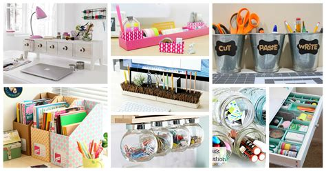 easy and simple diy desk organization ideas that you will like