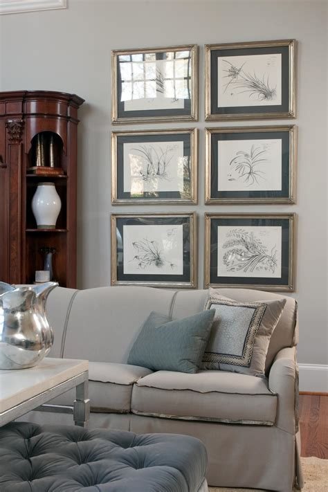 framed art for living room photo page hgtv