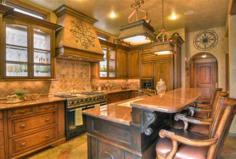 Tuscan Kitchen by Tuscan Interior Design Ideas Furnish Burnish