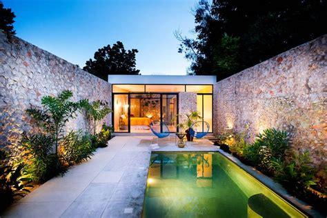 patios exteriores decoracion dise 241 o de exteriores 2 patios modernos con pileta