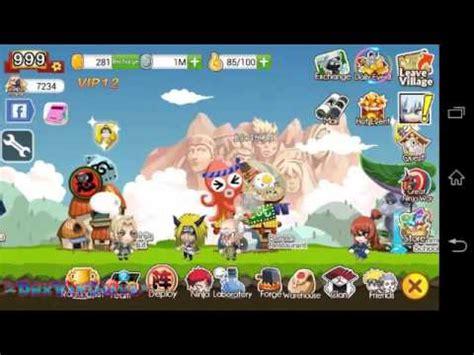 mod game ninja heroes apk ninja heroes reborn hack vip gold level and open jutsu 5