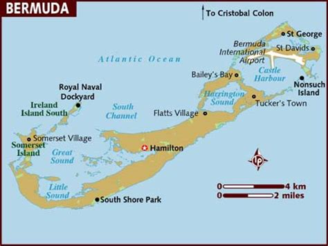 Bermuda Search Map Of Bermuda