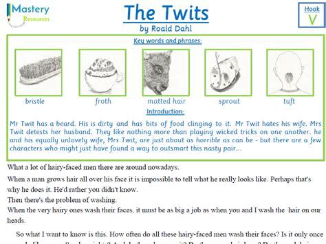 roald dahl biography comprehension ks2 the twits by roald dahl comprehension ks2 by benserghin