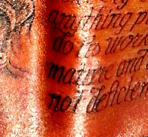 kevin durant tattoo does kevin durant s new back a spelling error