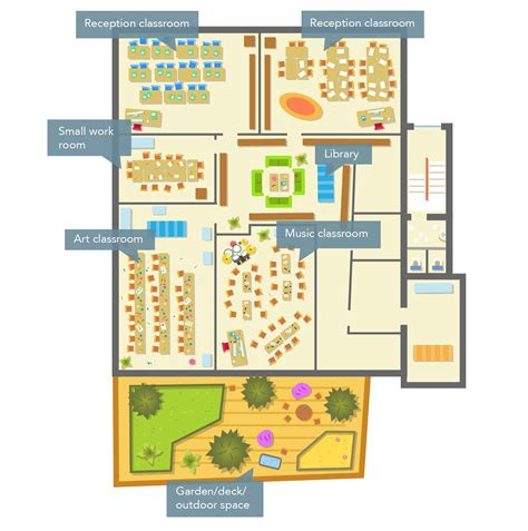 layout of school building location and buildings hackney new primary school