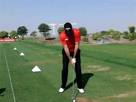 slow motion golf swing from behind alvaro quiros slow motion golf swing iron fo 2011