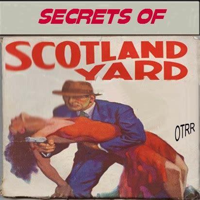 Secret Of A Single secrets of scotland yard single episodes time
