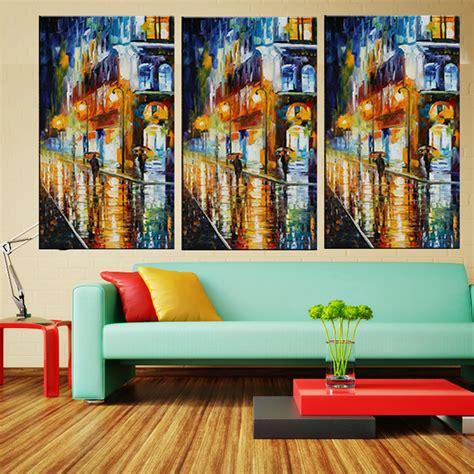 buy home decor online 100 hand painted modern landscape palette knife oil