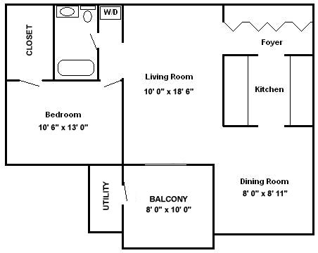 500 Square Foot Apartment Floor Plans Ashlea Gardens Apartments In New Holland Pa