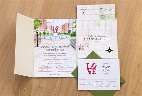 wedding invitations city philadelphia philadelphia wedding inspiration painted weddings