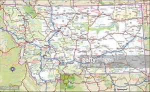 Road Map Montana by Montana Highway Map Vector Art Getty Images
