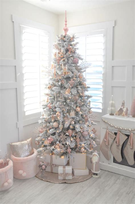 25 unique white xmas tree ideas on pinterest white