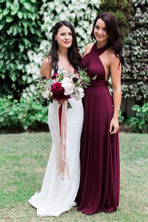 ways  add burgundy   fall wedding weddingomania