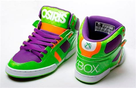 osiris shoes limited edition xbox 360 osiris skateboard promo shoes