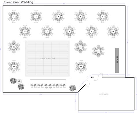 banquet layout design event planning software try it free for easy layout