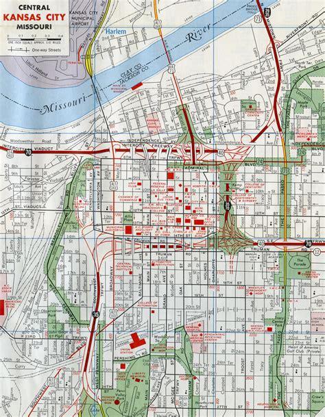 map kansas city interstate guide interstate 670 kansas missouri