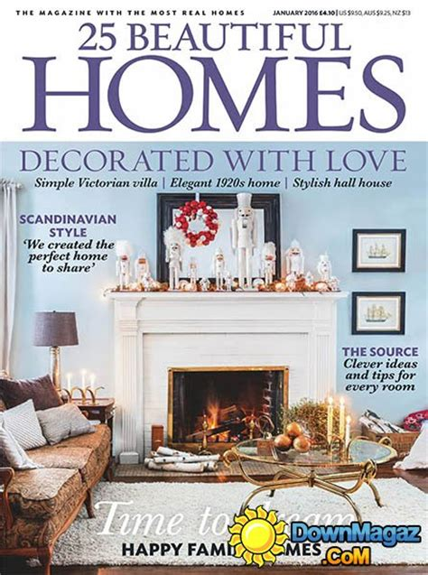 beautiful homes magazine 25 beautiful homes uk january 2016 187 download pdf