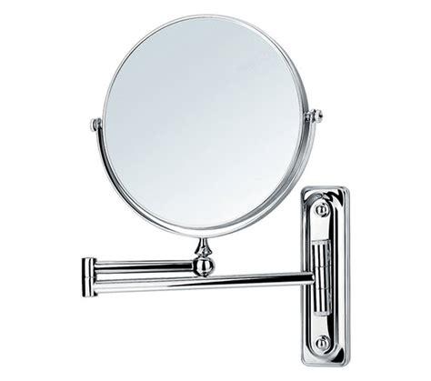 adjustable bathroom mirror flova floral wall mounted adjustable round shaving mirror