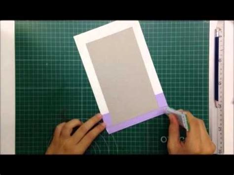 tutorial libro scrapbook c 243 mo hacer un libro de firmas tutorial scrapbook youtube