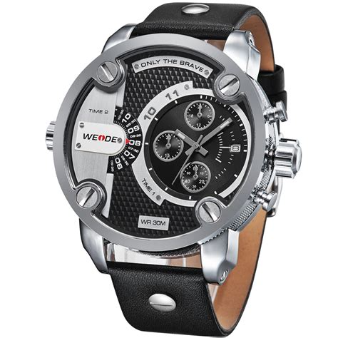 Weide Japan Quartz Miyota Sports 30m Wr Wh6 T0210 1 weide jam tangan japan quartz miyota wh3301 black silver jakartanotebook