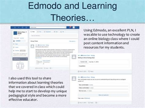 edmodo reflection edu210 module 12 tpack reflection