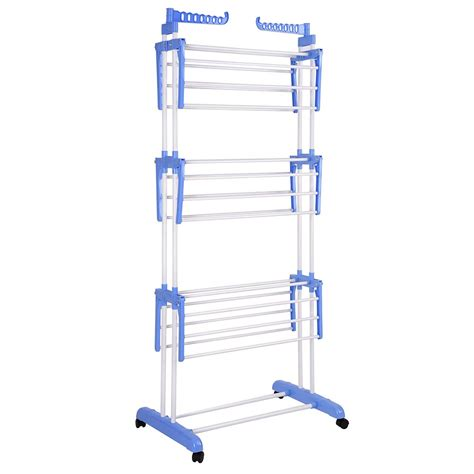 Sweater Drying Rack Collapsible by 66 Quot Laundry Clothes Storage Drying Rack Portable Folding