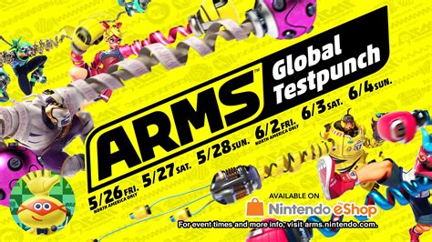 global test arms puts up its dukes early with two global test punch