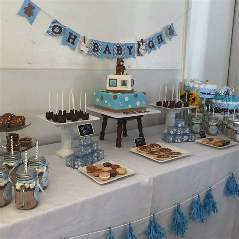 Church Baby Shower Ideas by Teddy Themed Baby Shower By Jackie Of Ohhappyday Yelp