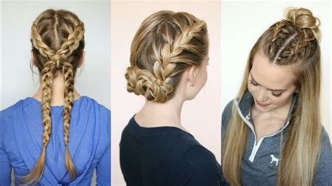 3 sporty hairstyles sue